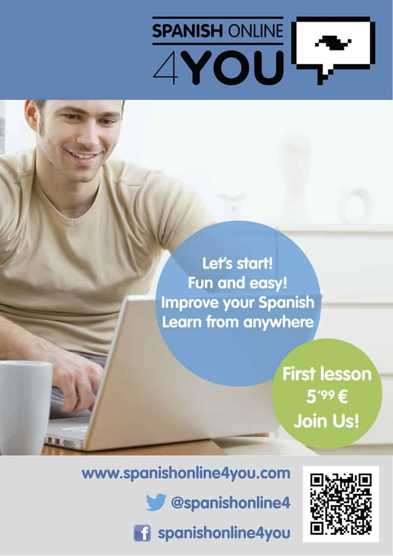 Spanish Online 4 You - Flyer | Poster
