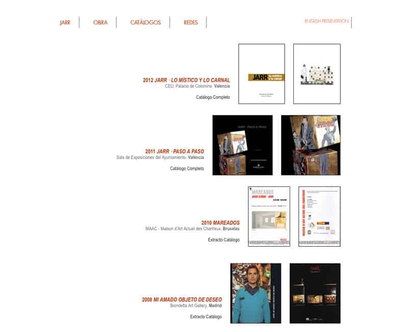 Jarr - Diseño Web