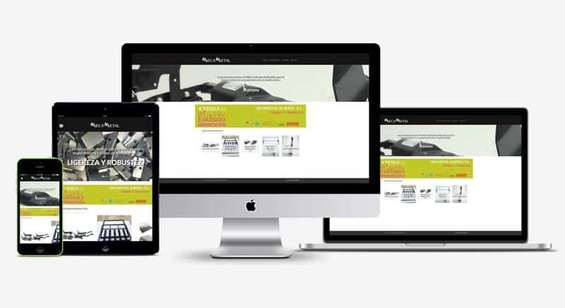 Mecametal - Diseño Web