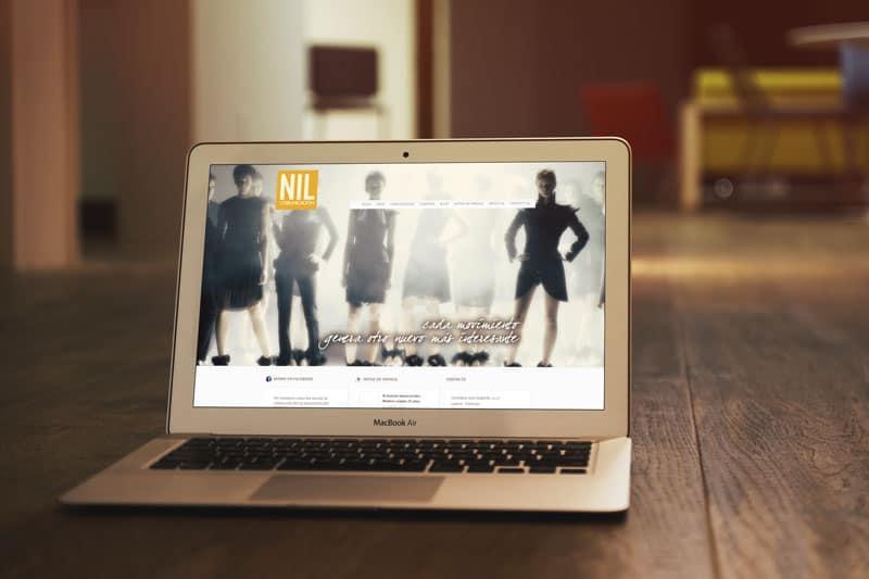 Nil Comunicación - Diseño Web