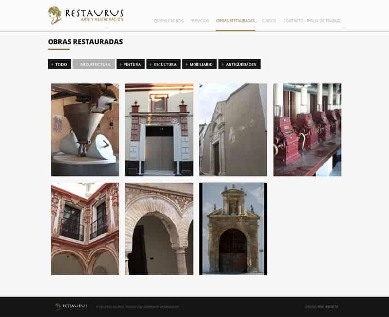 Restaurus - Diseño Web Responsive HTML5, Seo