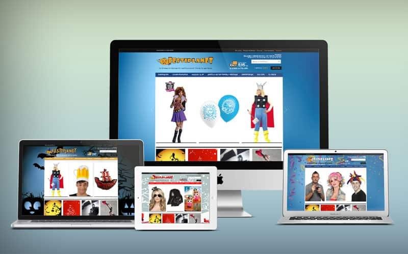 Festiplanet - Diseño Web, Tienda Online, Magento