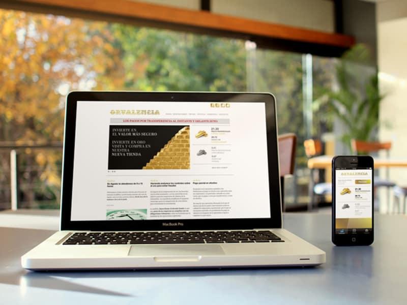 OrValencia - Diseño Web, Tienda Online, App