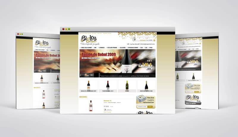 Siglos Gourmet - Diseño Web, Gráfico, Tienda Online