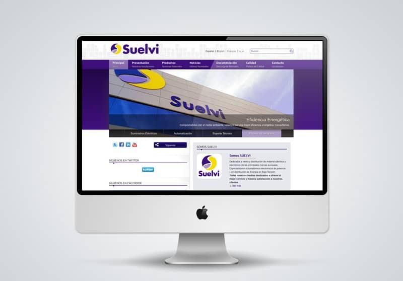 Suelvi - Diseño Web