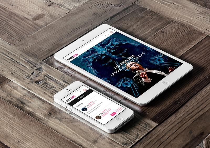 Moddos - Club Relacional y Empresarial - Web y APP iPhone & Android