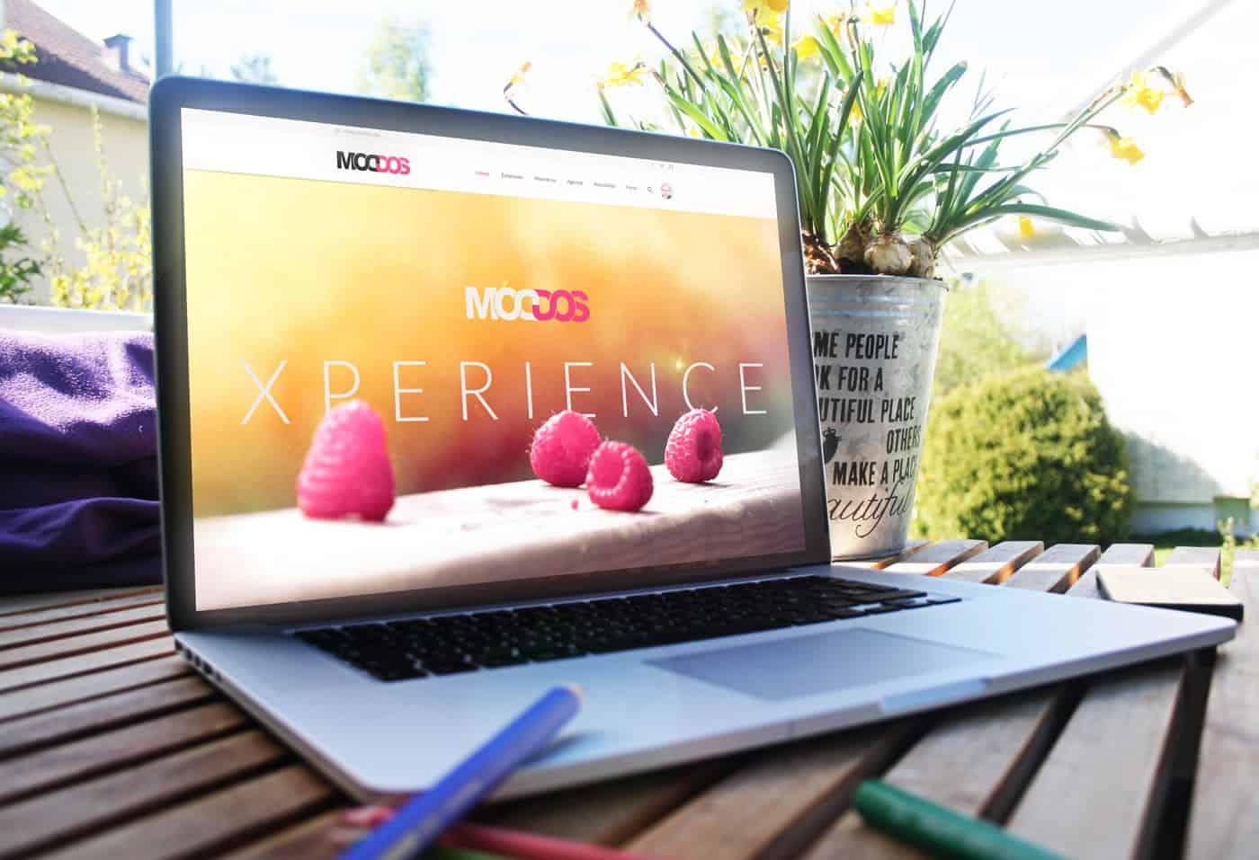 Moddos - Club Relacional y Empresarial - Web y APP iPhone & Android. HTML5 Responsive