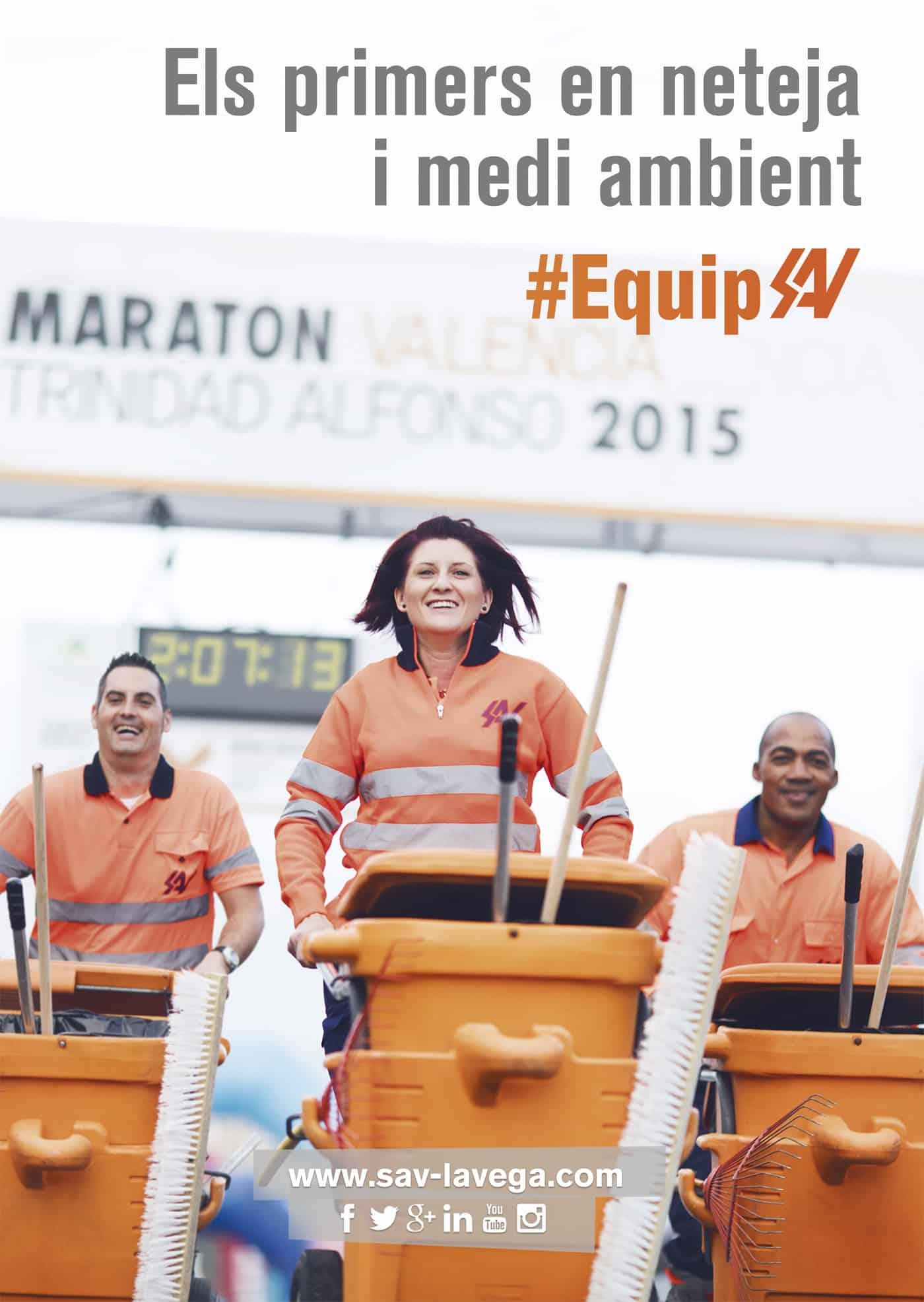 Publicidad Maraton de Valencia 2015 SAV