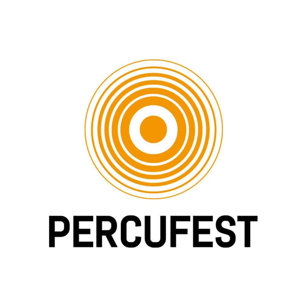 PercuFest - Branding Blanco