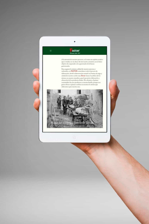 Jamones Pastor - iPad