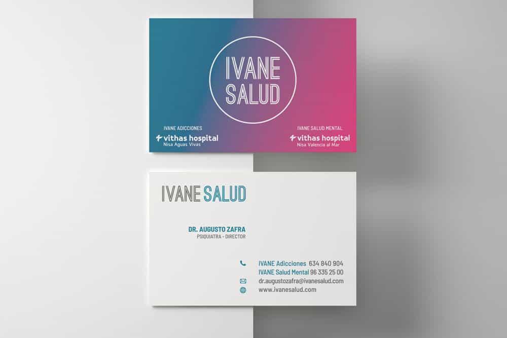 Ivane Salud - Tarjetas