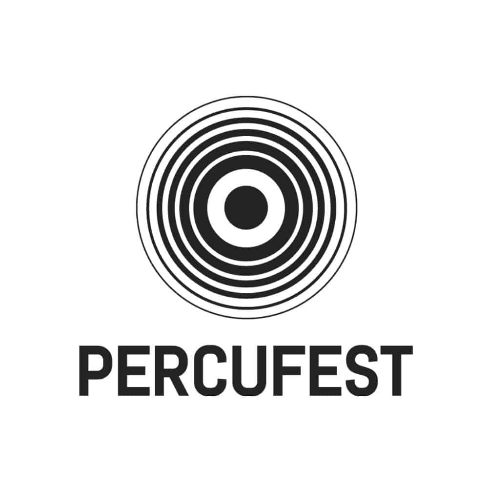 PercuFest - Branding Monocromo