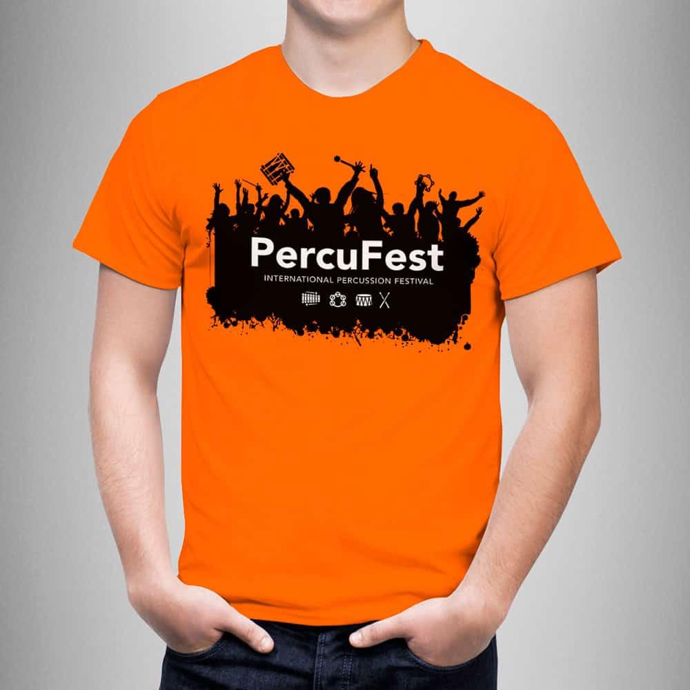 PercuFest - Camiseta 2017 Front