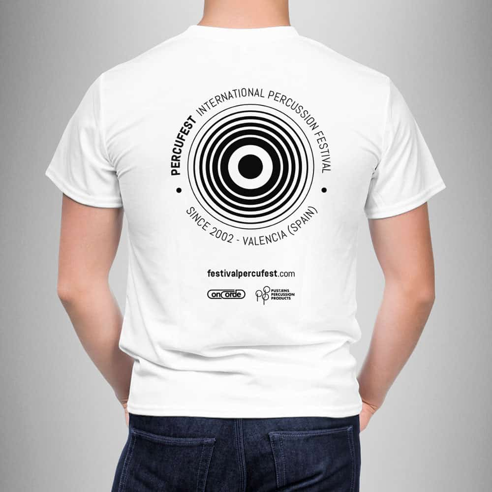 PercuFest - Camiseta 2018 Back
