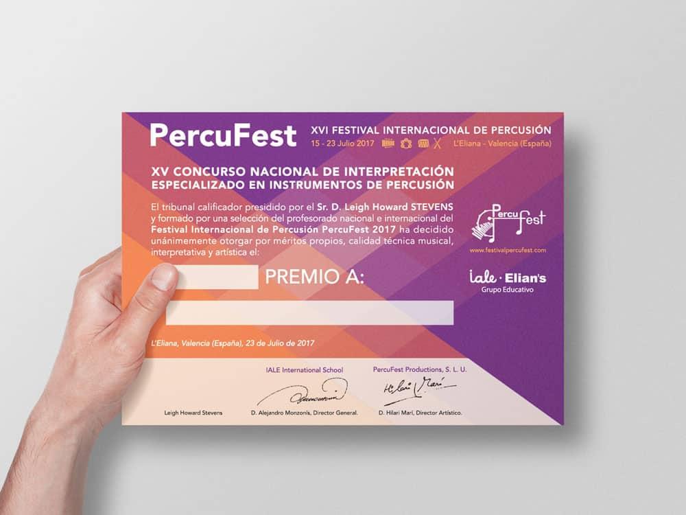PercuFest - Diploma 2017 #1
