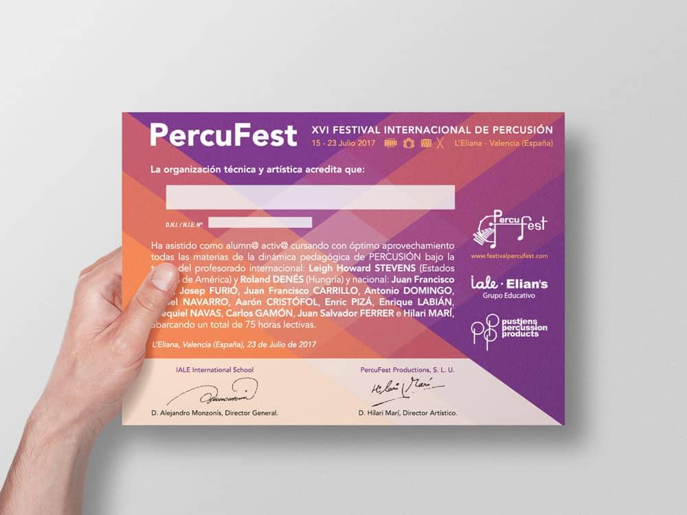 PercuFest - Diploma 2017 #2