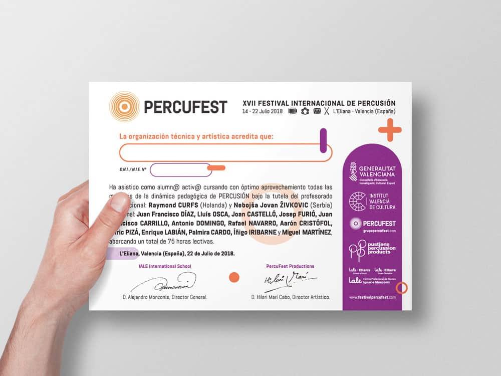PercuFest - Diploma 2018 #2