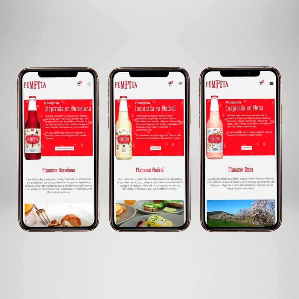 Pompita - Responsive Smartphone