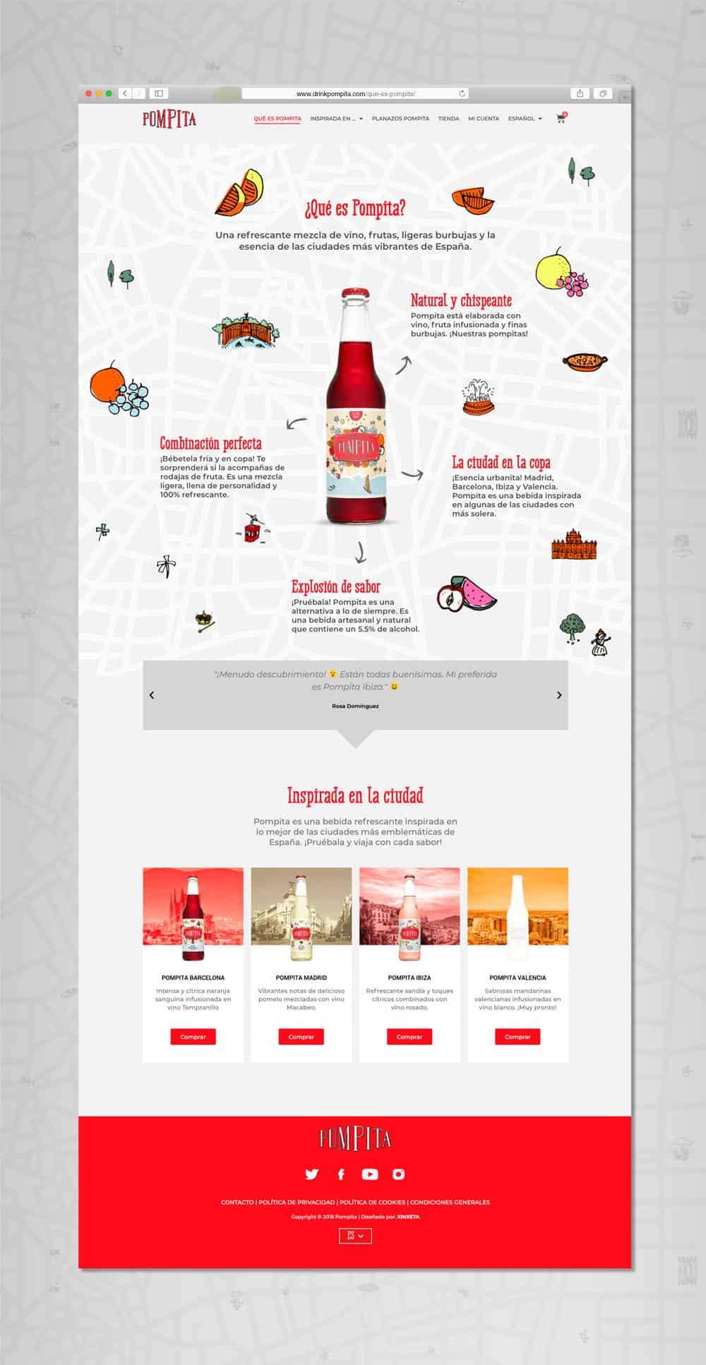 Pompita - Versión web Qué es Pompita