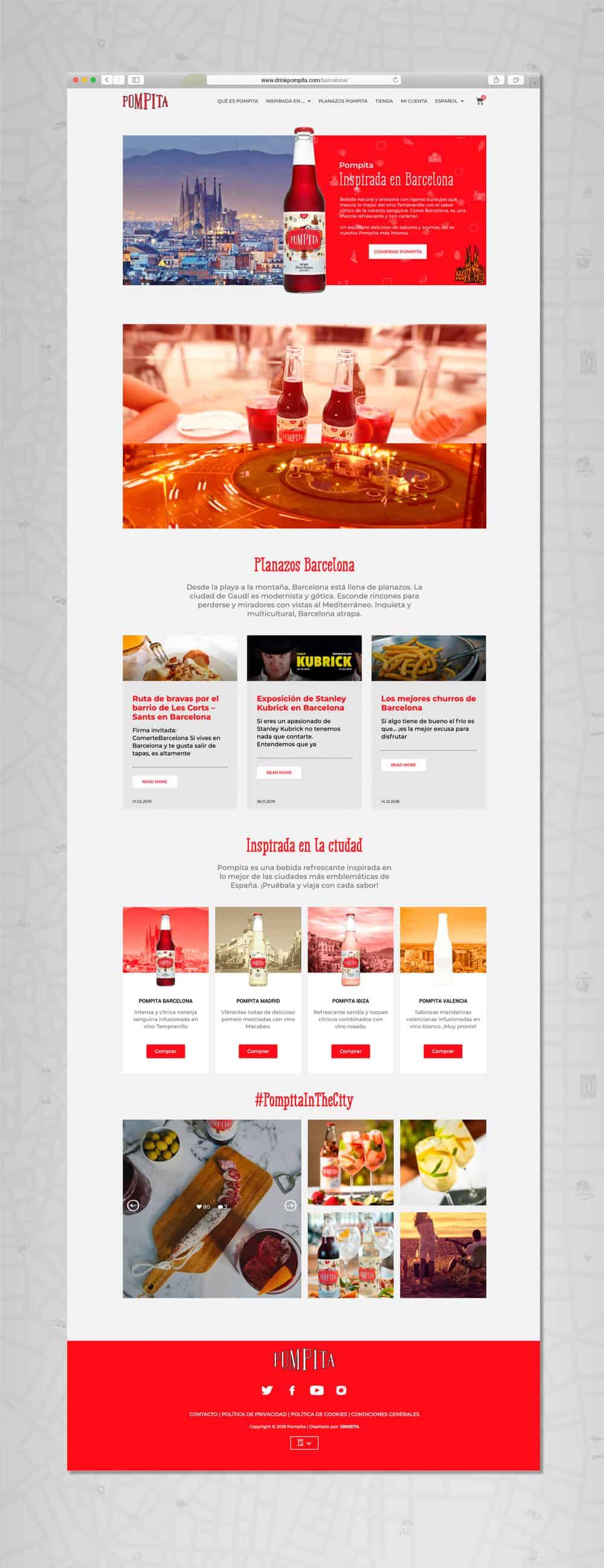 Pompita - Versión web Inspirada en...