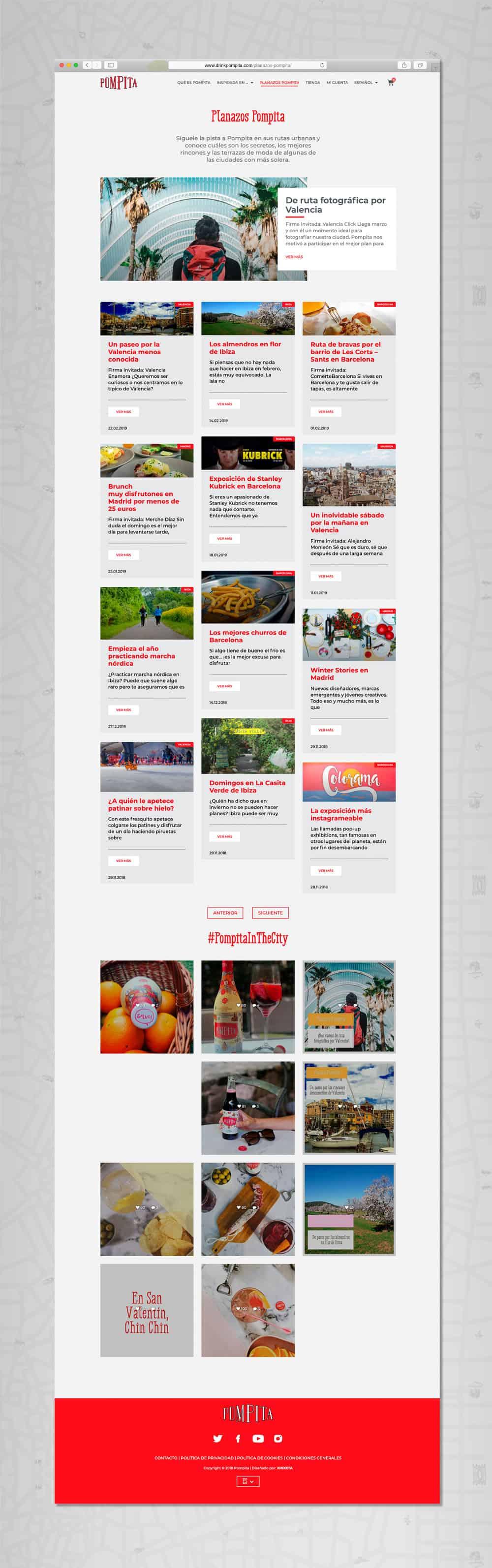 Pompita - Versión web Planazos Pompita