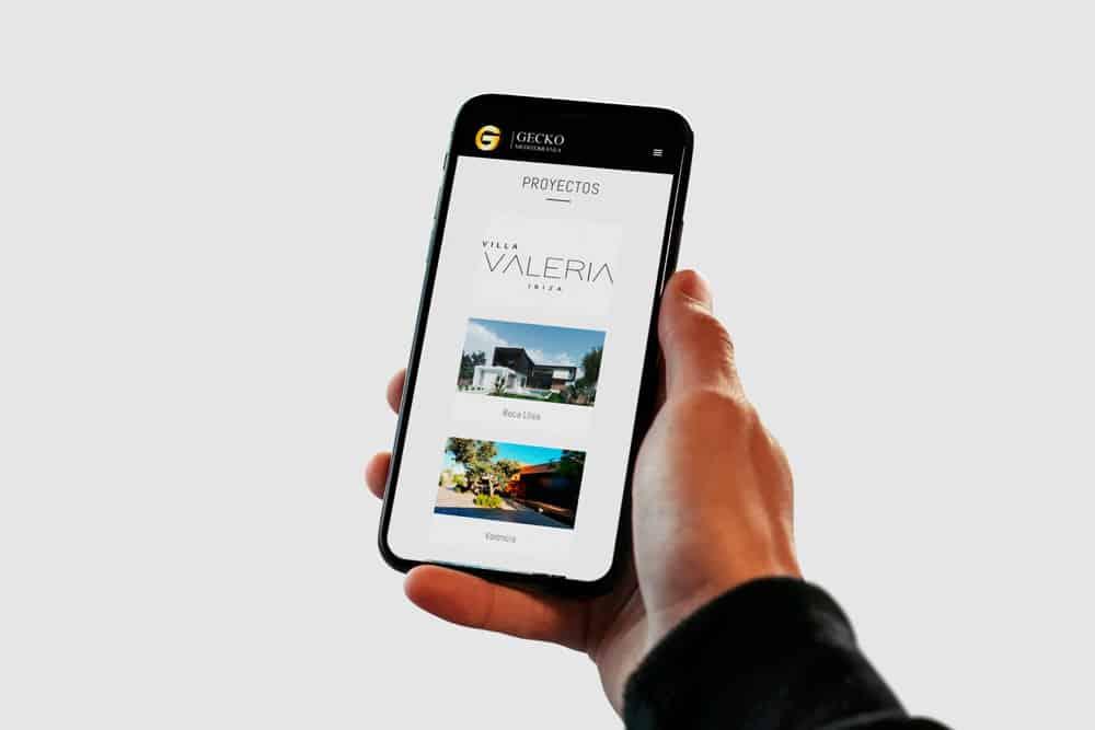 Gecko Mediterránea - Responsive smartphone