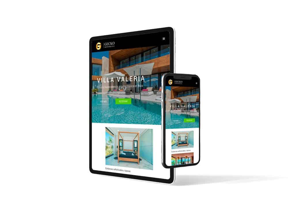 Gecko Mediterránea - Responsive en dispositivos móviles